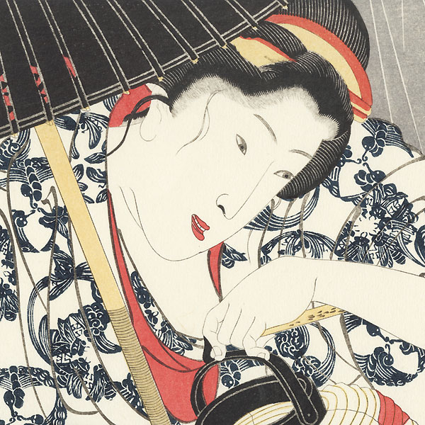 Ten Days Rain by Kuniyoshi (1797 - 1861)
