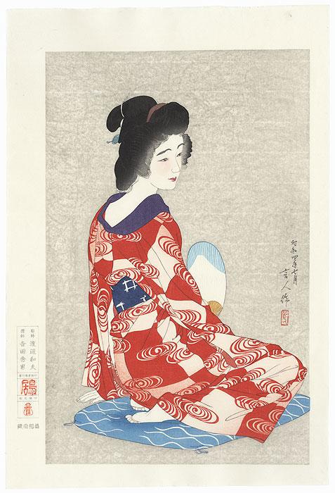 Long Undergarment, 1929 by Torii Kotondo (1900 - 1976)