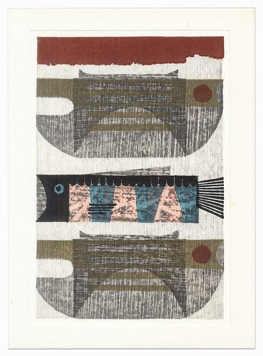 Catch from the Sea by Goro Kumagai (born 1932)