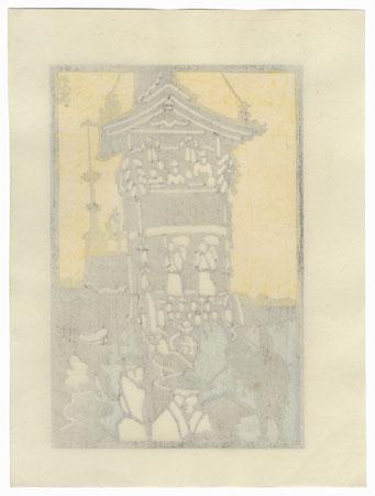Festival Float by Shin-hanga & Modern artist (not read)