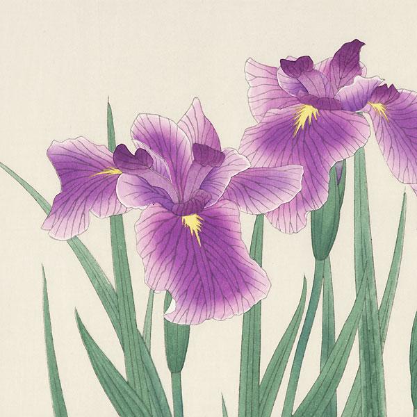 Irises by Nisaburo Ito (1910 - 1988)