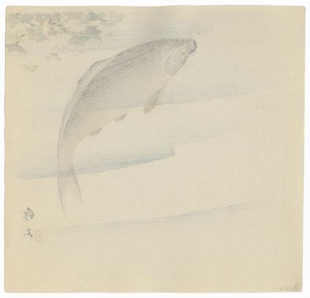Carp by Nagamachi Chikuseki (active circa 1900)