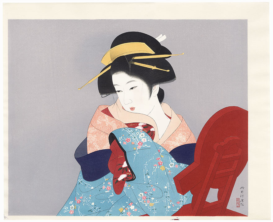 Three Thousand Years by Ito Shinsui (1898 - 1972)