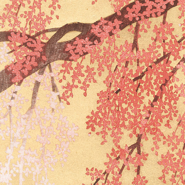 Weeping Cherry 14, 2012 by Hajime Namiki (born 1947)