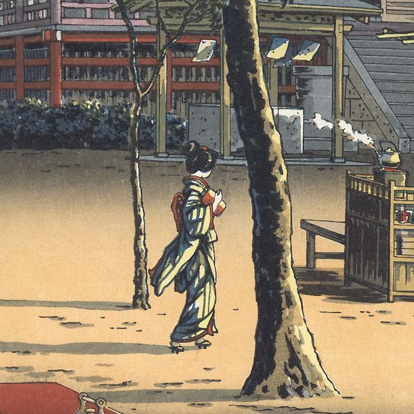 Ueno Kiyomizu, 1940 by Tsuchiya Koitsu (1870 - 1949)