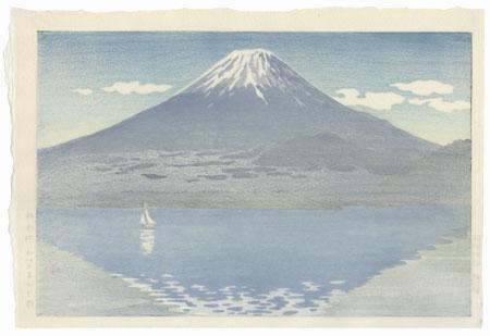 Lake Shoji, 1934 by Tsuchiya Koitsu (1870 - 1949)