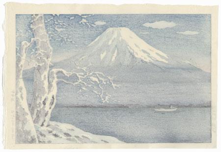 Lake Yamanaka, 1939 by Tsuchiya Koitsu (1870 - 1949)