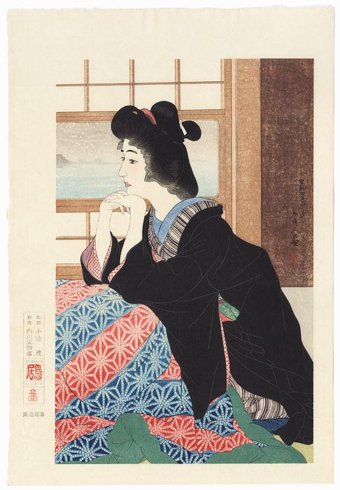 Snow by Torii Kotondo (1900 - 1976)