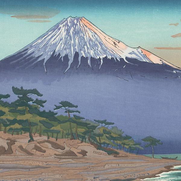 Mt. Fuji from Hagoromo by Okada Koichi (1907 - ?)