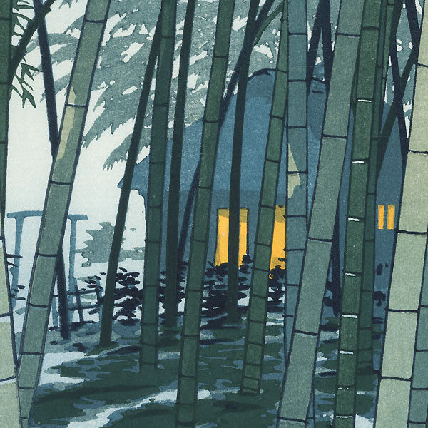 Bamboo in Early Summer, 1954 by Shiro Kasamatsu (1898 - 1991)