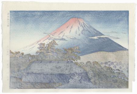 Morning at Ubaku, Hakone 1953 by Shiro Kasamatsu (1898 - 1991)