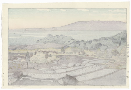 Rice-field in Suizu, 1951 by Toshi Yoshida (1911 - 1995)