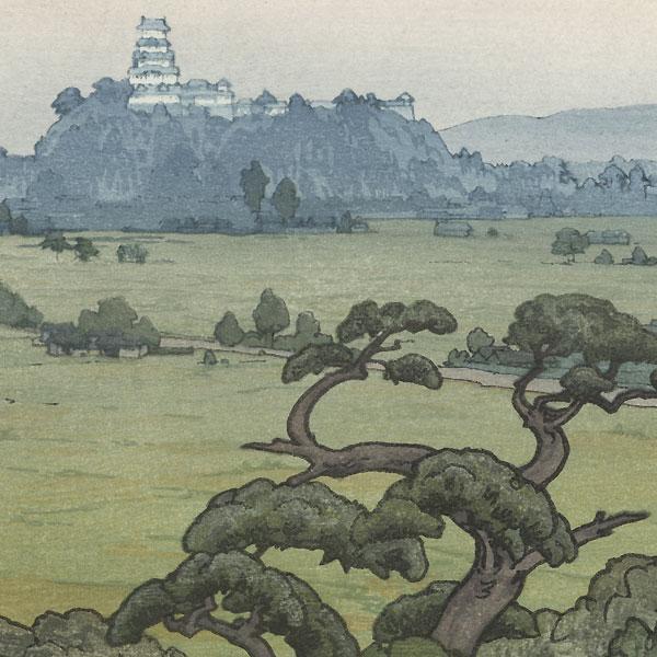 Shirasagi Castle, 1942 by Toshi Yoshida (1911 - 1995)