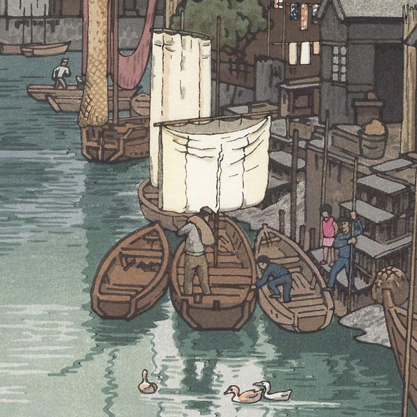Urayasu, 1951 by Toshi Yoshida (1911 - 1995)