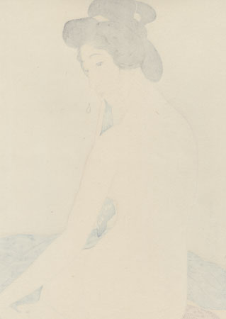 Beauty after Bath, 1920 by Hashiguchi Goyo (1880 - 1921)