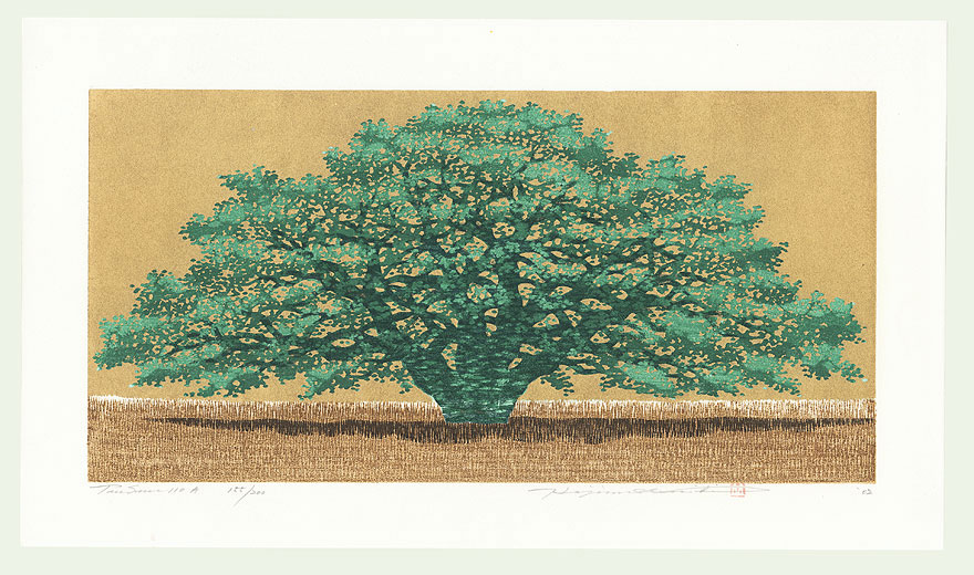 Treescene 110 A, 2002 by Hajime Namiki (born 1947)