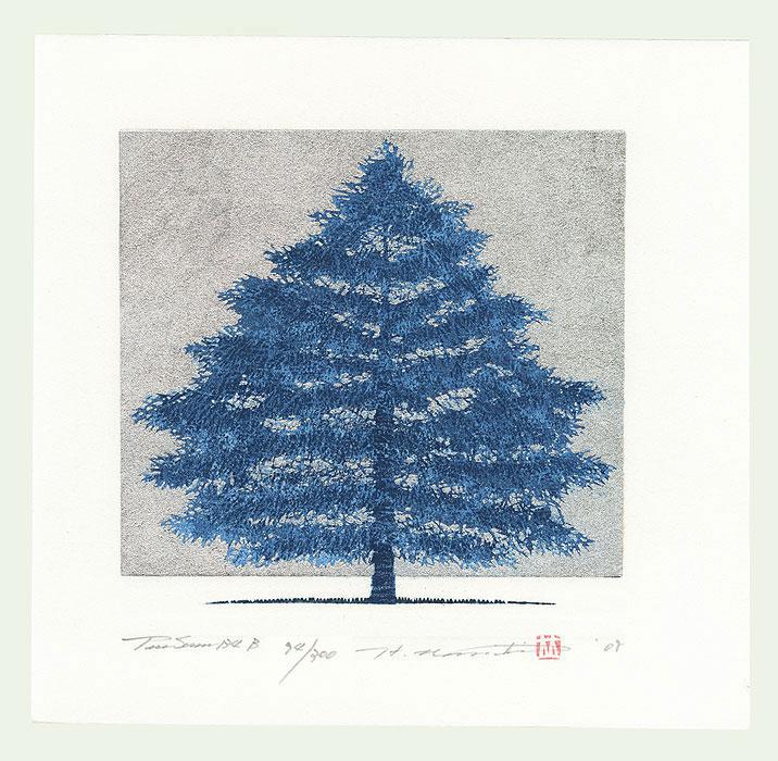 Treescene 134 B, 2008 by Hajime Namiki (born 1947)