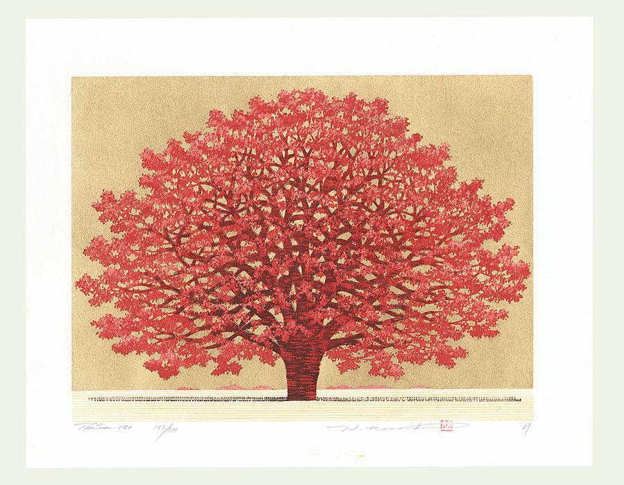 Treescene 140, 2009 by Hajime Namiki (born 1947)