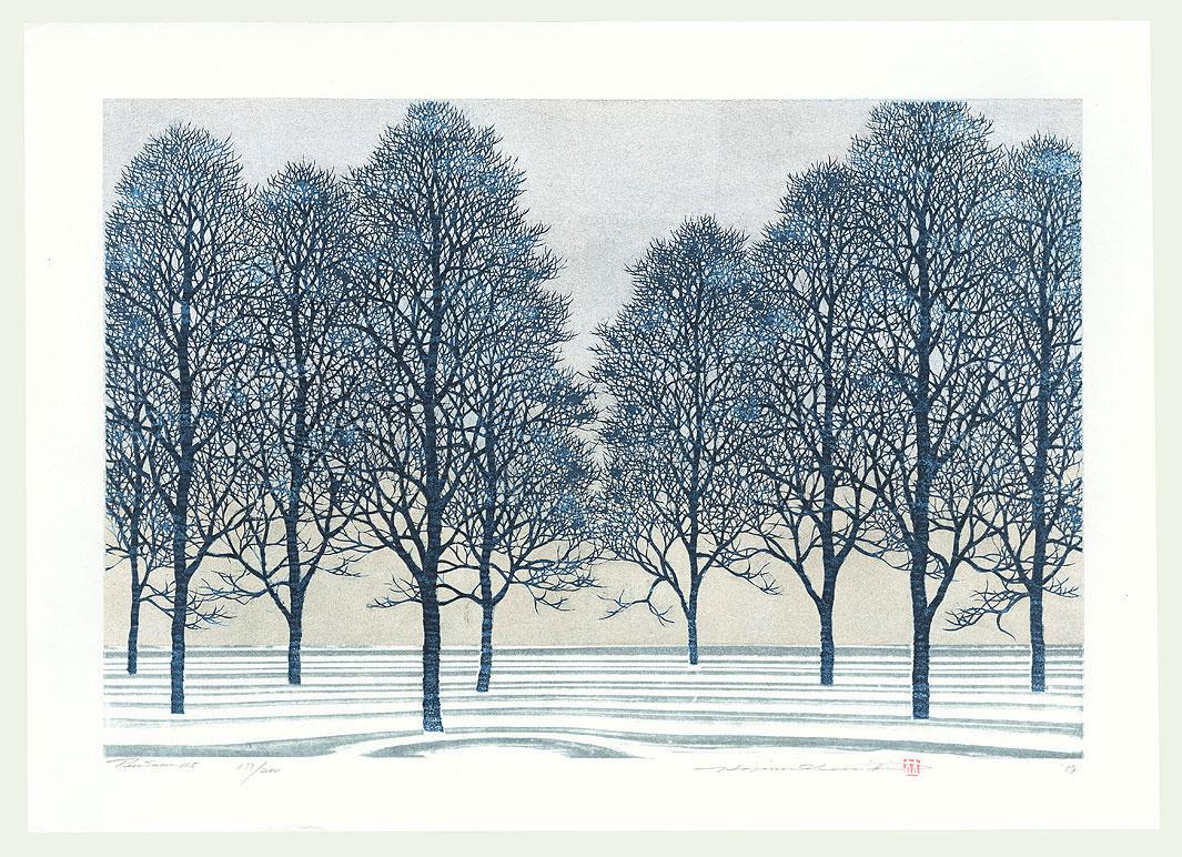 Treescene 115, 2004 by Hajime Namiki (born 1947)