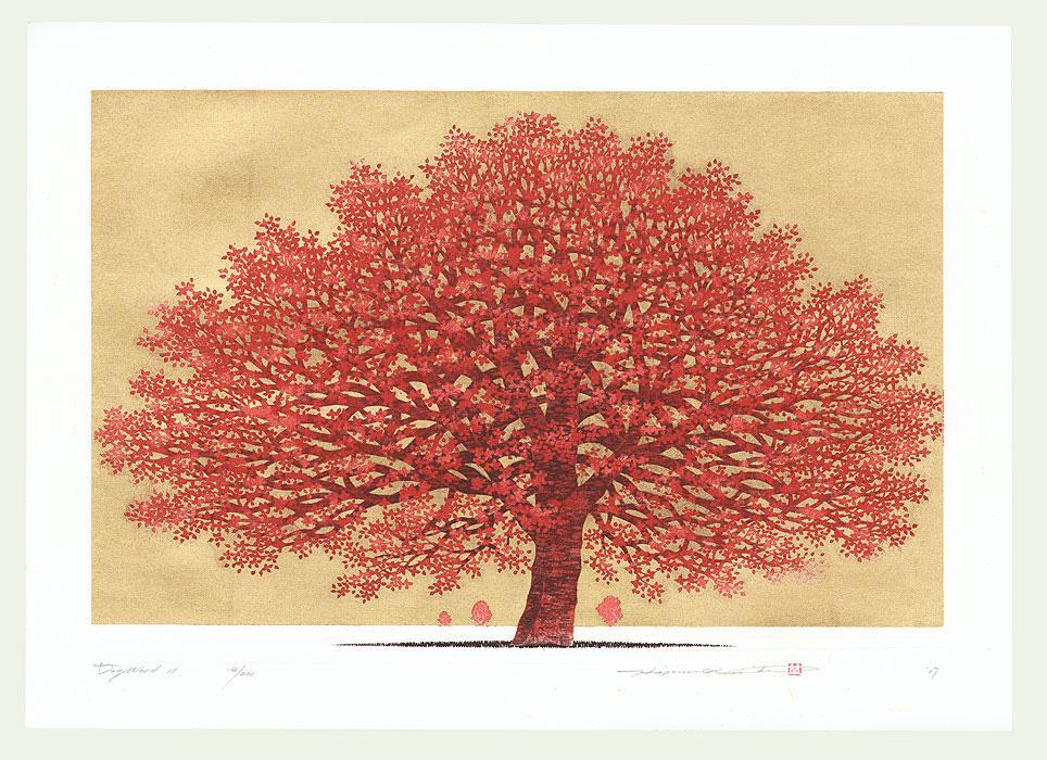 Dogwood 11, 2017 by Hajime Namiki (born 1947)