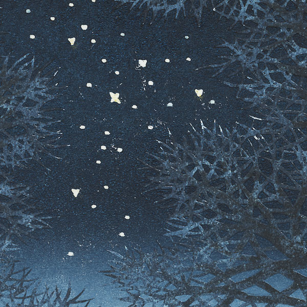 Night Scene 3, 2019 by Hajime Namiki (born 1947)