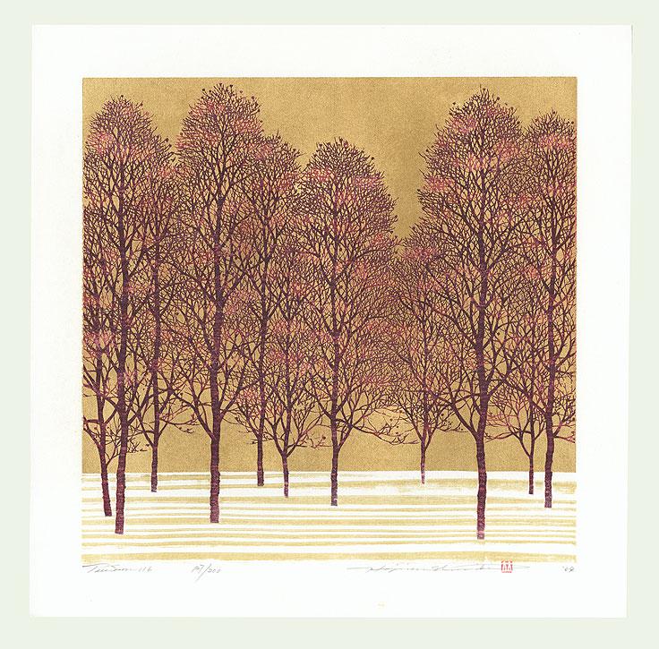Treescene 116, 2009 by Hajime Namiki (born 1947)