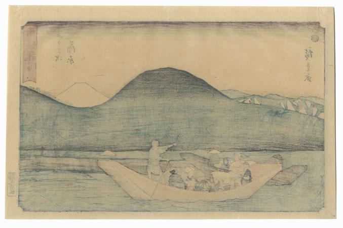 Kanbara, Station No. 16 by Hiroshige (1797 - 1858)