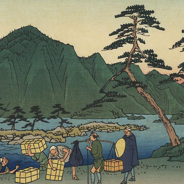 Maisaka, Station No. 31 by Hiroshige (1797 - 1858)