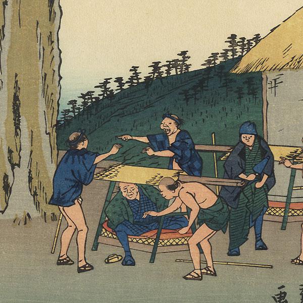 Futakawa, Station No. 34 by Hiroshige (1797 - 1858)