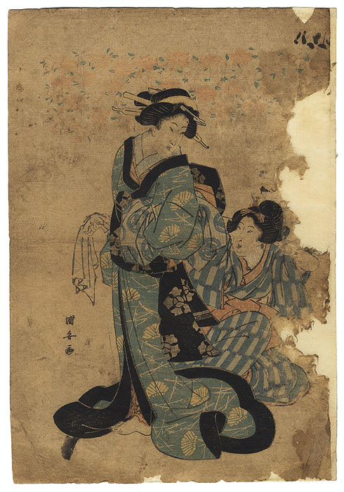 Drastic Price Reduction Moved to Clearance, Act Fast! by Kuniyasu (1794 - 1832)