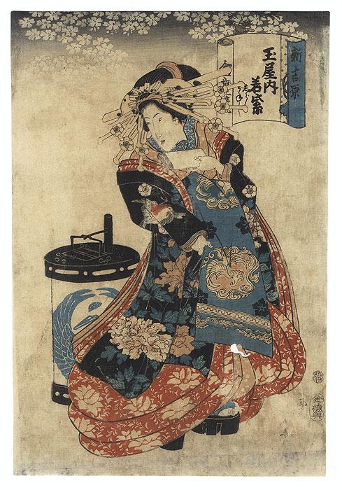 A Clearance Opportunity! Meiji or Edo era Original by Kuniyasu (1794 - 1832)