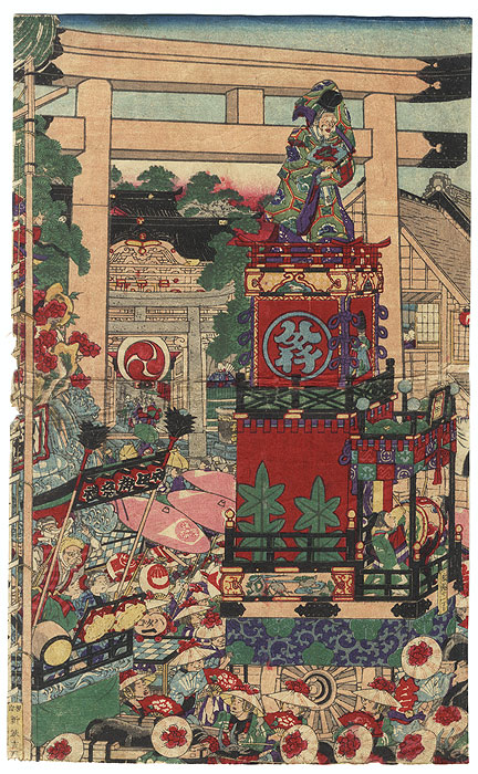 Drastic Price Reduction Moved to Clearance, Act Fast! by Yoshifuji (1828 - 1889)