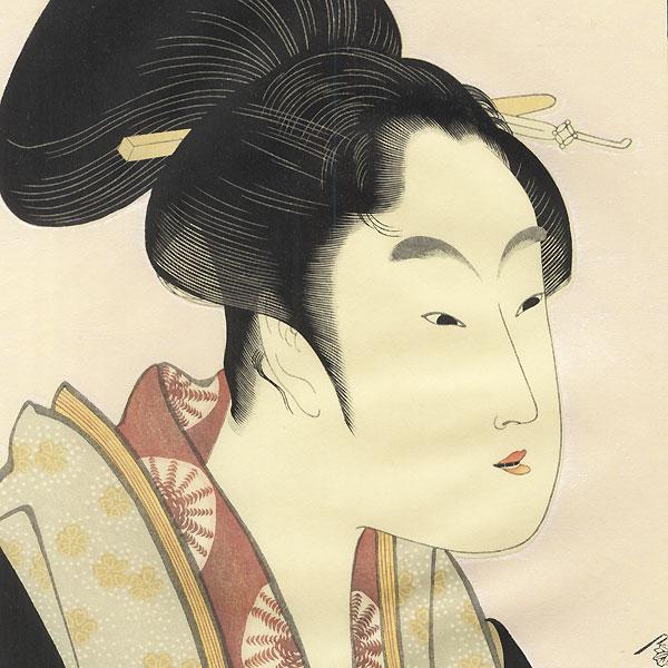 Love That Meets Each Night  by Utamaro (1750 - 1806)