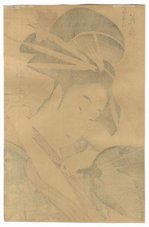 Hanaogi of the Ogiya by Eisui (active circa 1790 - 1823)