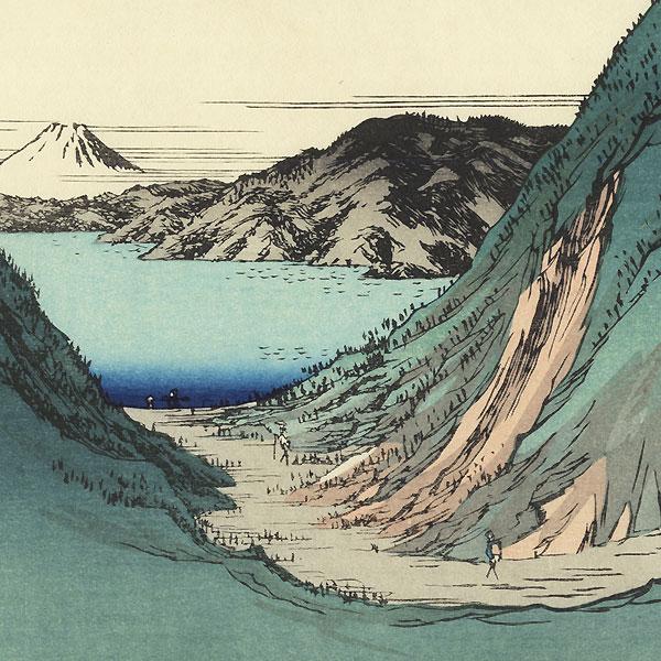 Kiso Kaido Shiojiri-Toge by Hiroshige (1797 - 1858)