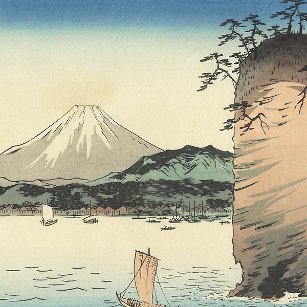 Musashi Honmoku by Hiroshige (1797 - 1858)