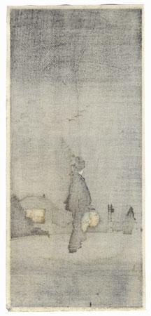 Evening Stroll by Shin-hanga & Modern artist (unsigned)
