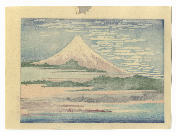Fuji under Clear Skies by Hokusai (1760 - 1849)