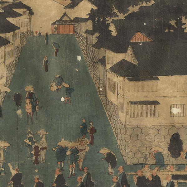 A Clearance Opportunity! Meiji or Edo era Original by Yoshitora (active circa 1840 - 1880)