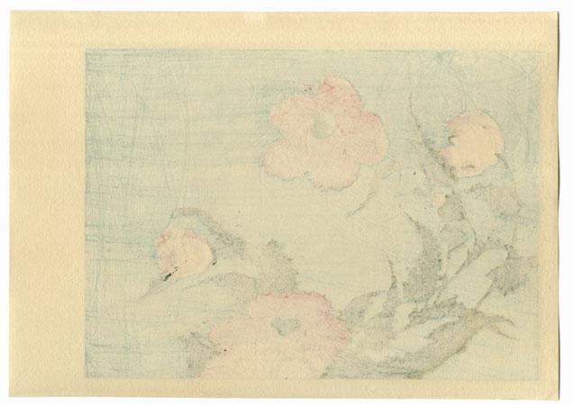 Poppies by Hokusai (1760 - 1849)