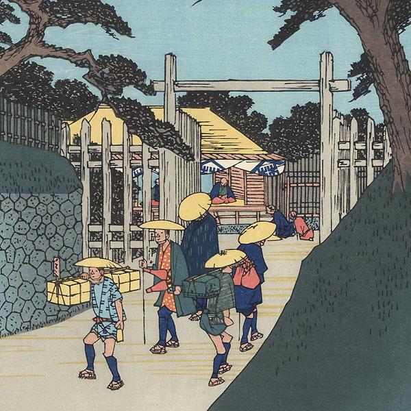 Fukushima, Station 38 by Hiroshige (1797 - 1858)
