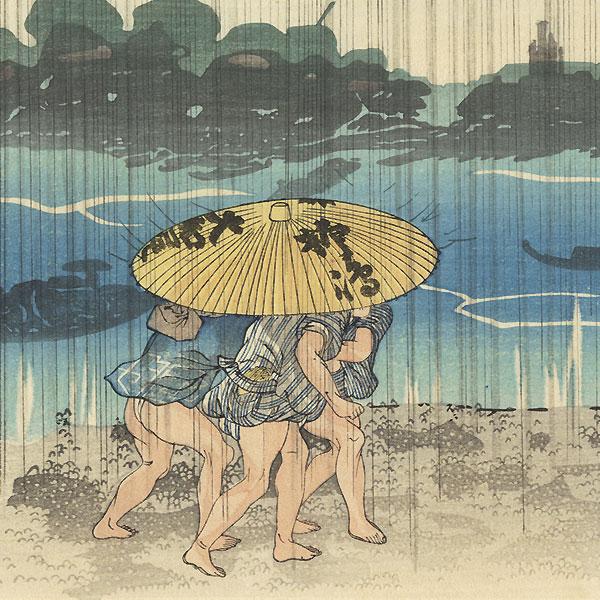 Ommayagashi by Kuniyoshi (1797 - 1861)