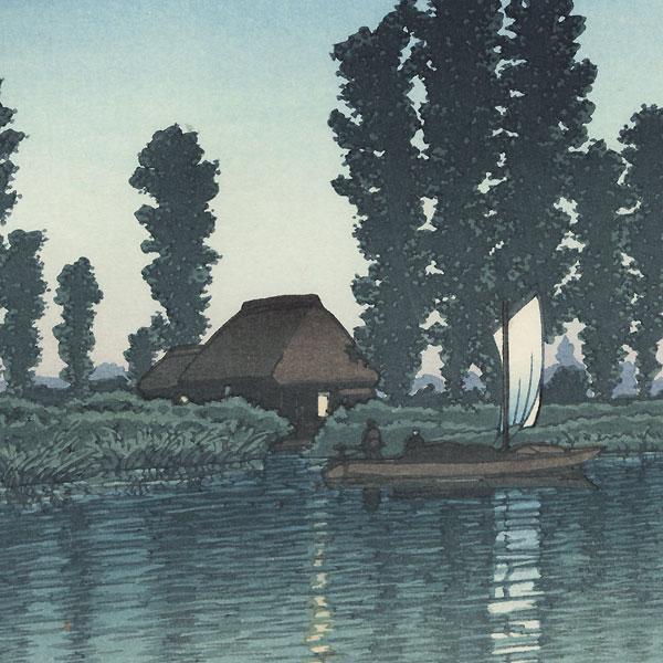 Dusk at Itako, 1932 by Hasui (1883 - 1957)