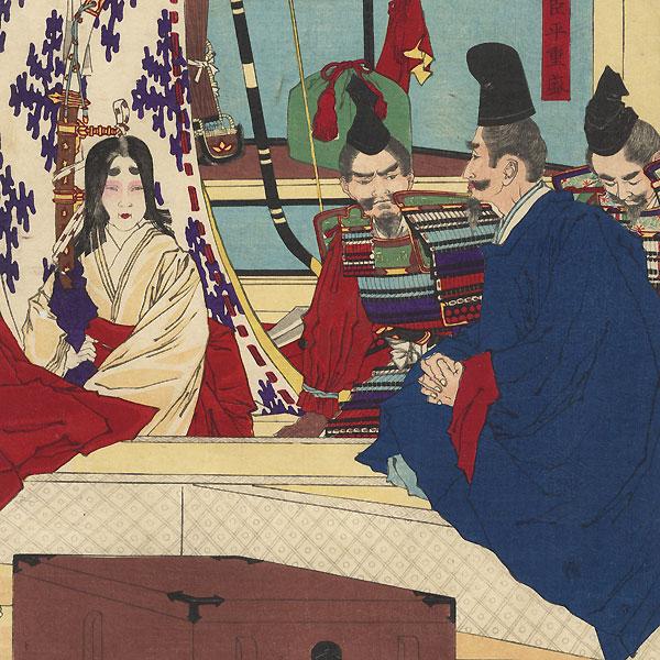 Emperor Takakura, 1880 by Yoshitoshi (1839 - 1892)