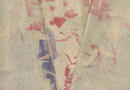 Autumn Outing by Kunisada III (1848 - 1920)