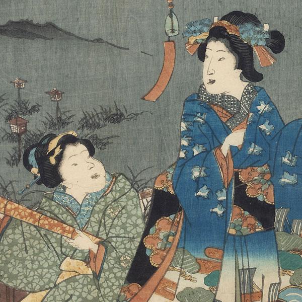Akashi, Chapter 13 by Kunisada II (1823 - 1880)