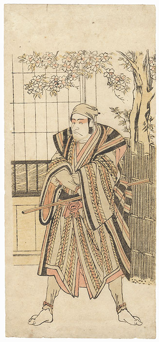 Scowling Man by Hokusai (1786 - 1864)