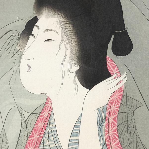 Mosquito Netting, 1906 by Yamamoto Shoun (1870 - 1965)