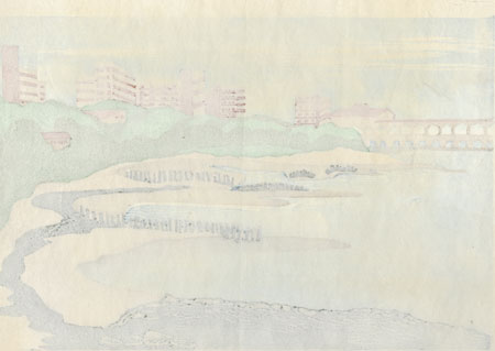 City in the Distance, 1993 by Contemporary artist (not read)