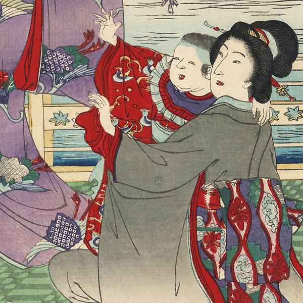 May by Nobukazu (1874 - 1944)